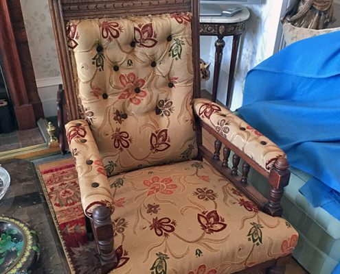 Antique Gentlemans Chair