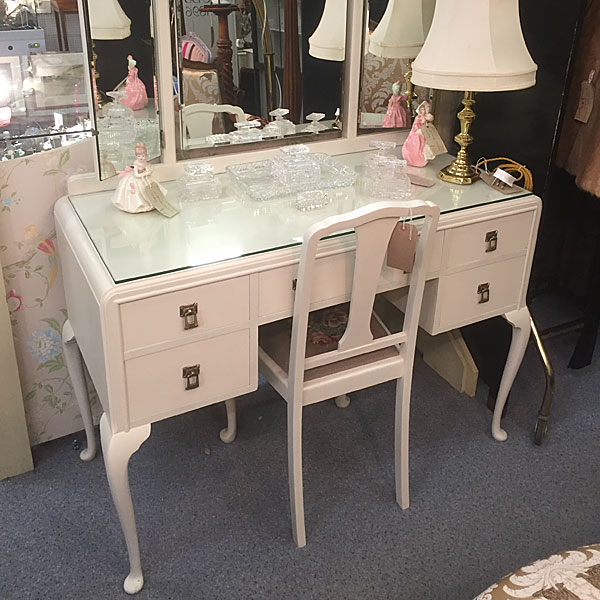 Painted 1930s Dressing Table