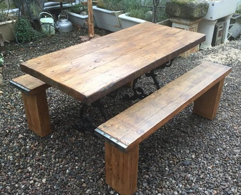 Reclaimed Dining Suite